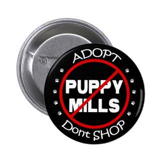 Adopt no hace compras botón pin