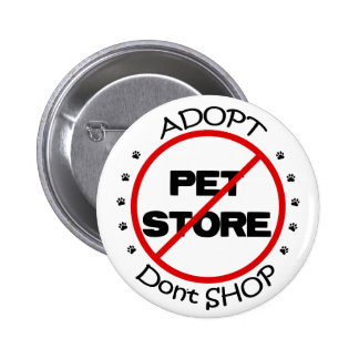 Adopt no hace compras botón pins