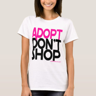 ¡Adopt no hace compras! ¡Esfuerzos de rescates de Playera