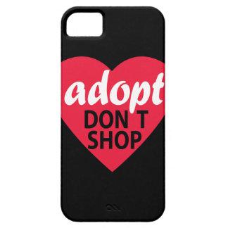 Adopt no hace compras iPhone 5 Case-Mate cobertura