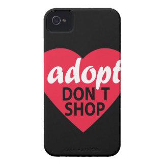 Adopt no hace compras Case-Mate iPhone 4 funda
