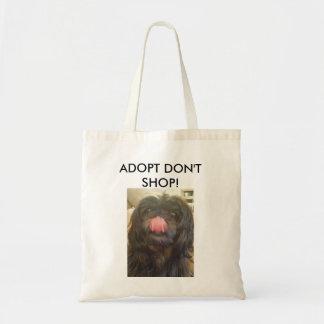 Adopt no hace compras la bolsa de asas
