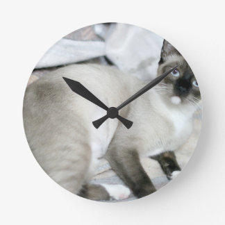 ADOPT Opal Round Clock