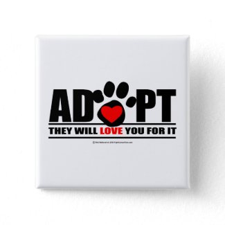 Adopt Pawprint button