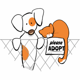 Adopt Pets Patch & Rusty™ Cutout