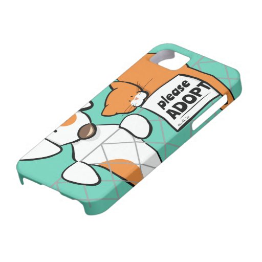 Adopt Pets Patch & Rusty™ iPhone 5 Case