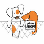 Adopt Pets Patch & Rusty™ Photo Cut Out