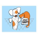 Adopt Pets Patch & Rusty™ Postcards