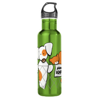 Adopt Pets Patch & Rusty™ Water Bottle