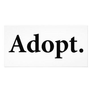 Adopt Photo Cards