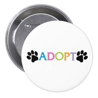Adopt Pinback Button