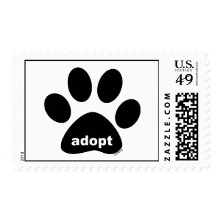 Adopt Postage Stamp