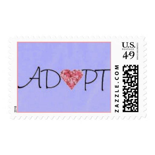 Adopt Postage Stamp