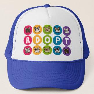 Adopt Rainbow Frenchie Trucker Hat