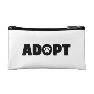 Adopt Rescue Dog Cosmetic Bag
