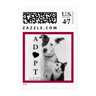 Adopt / Rescue Postage