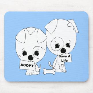 Adopt/Save A Life Pups Mouse Pad