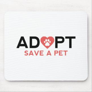 Adopt Save A Pet Mouse Pad