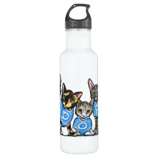 Adopt Shelter Cats Stainless Steel Water Bottle