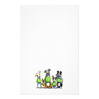 Adopt Shelter Dogs Green Tees Think Adoption Stationery Design