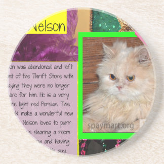 ADOPT Sweet Nelson Coaster
