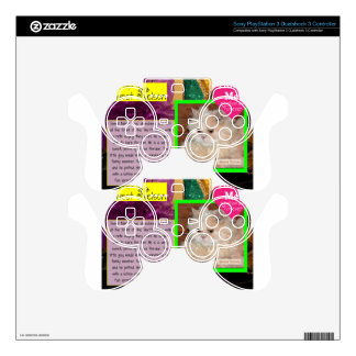 ADOPT Sweet Nelson PS3 Controller Decal