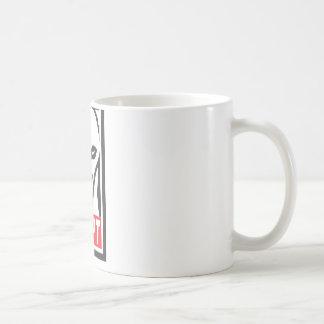 Adopt the Whippet Greyhound Coffee Mug