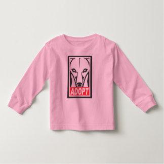 Adopt the Whippet Greyhound T-shirt