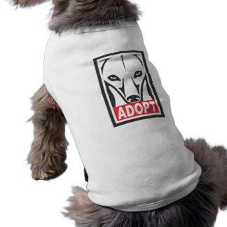 Adopt the Whippet Greyhound Tee