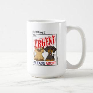 Adopt - Urgent Coffee Mugs