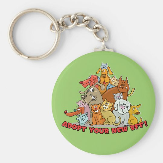 Adopt your new BFF! Key Chain