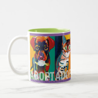 Adoptables Mug by Ron Burns