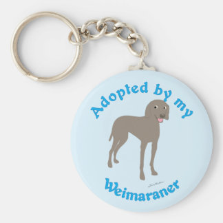 Adoptado por mi Weimaraner Llavero