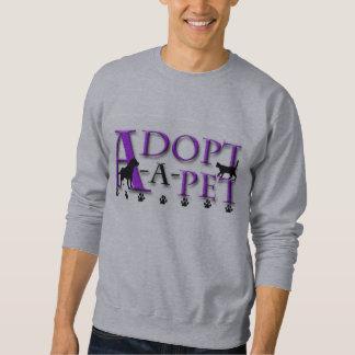 Adoptar-UNO-Mascota Sudaderas Encapuchadas