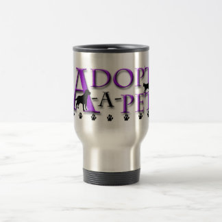 Adoptar-UNO-Mascota Taza Térmica