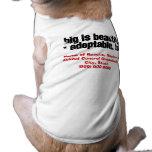 Adopte a los mascotas hermosos grandes camisetas de perrito
