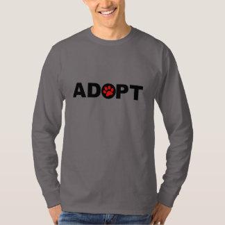 Adopte a un mascota remera