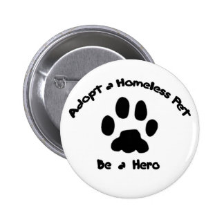 Adopte a un mascota sin hogar pins
