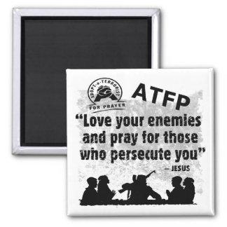 Adopte a un terrorista para el rezo imán cuadrado