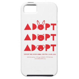 ¡Adopte! caso del iPhone iPhone 5 Cárcasas