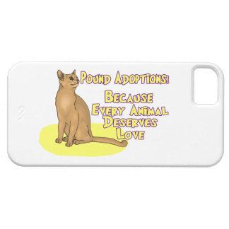 Adopte de la libra iPhone 5 Case-Mate protectores