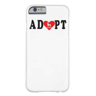 Adopte el caniche funda barely there iPhone 6