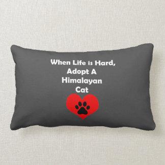 Adopte el gato Himalayan Cojín Lumbar