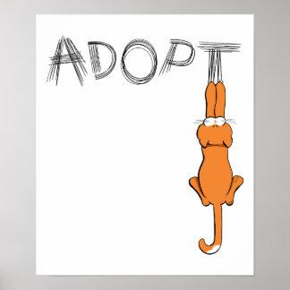 Adopte la adopción del mascota de Rusty™ de los ga Impresiones