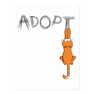 Adopte la adopción del mascota de Rusty™ de los Postales