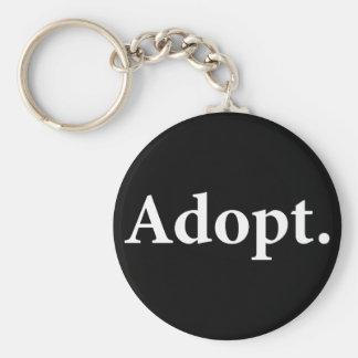 Adopte Llaveros Personalizados