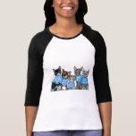 Adopte los gatos del refugio t-shirts