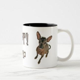 adopte - no hace compras la taza