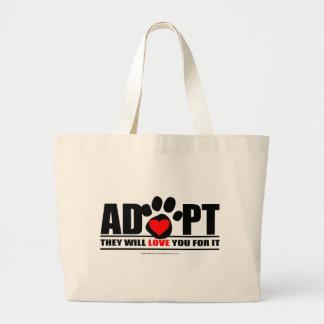 Adopte Pawprint Bolsas