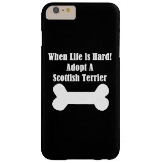 Adopte Terrier escocés Funda De iPhone 6 Plus Barely There